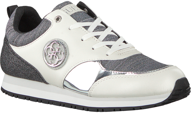 Witte GUESS Sneakers FLREA1 PAT12 - large