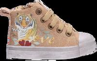 Beige SHOESME Hoge sneaker SH21W020  - medium