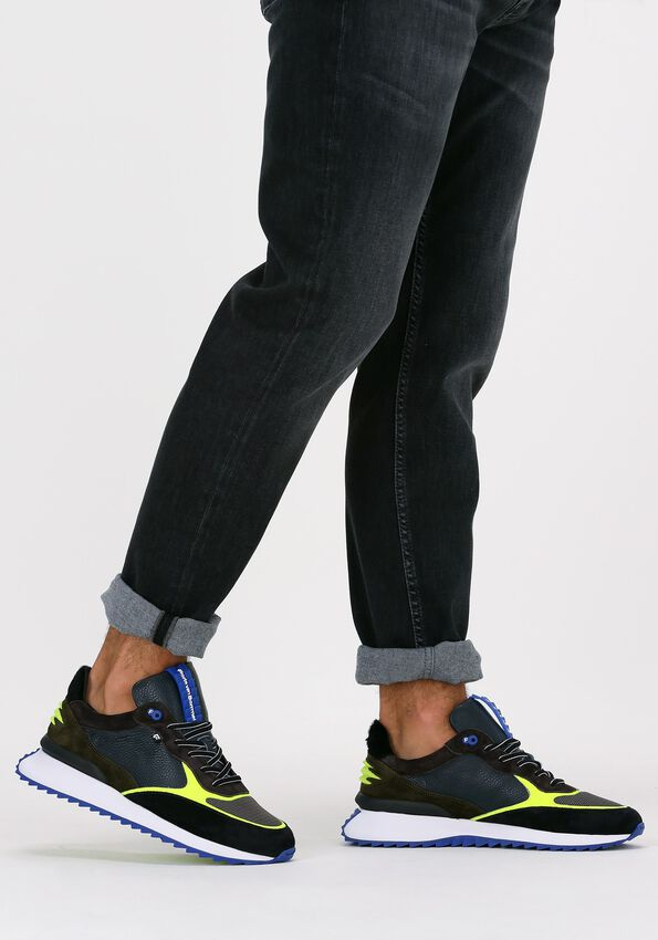 Blauwe FLORIS VAN BOMMEL Lage sneakers 16486  - larger