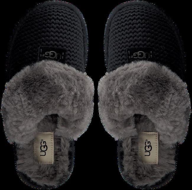 Zwarte UGG Pantoffels COZY KNIT SLIPPER WOMEN'S - large