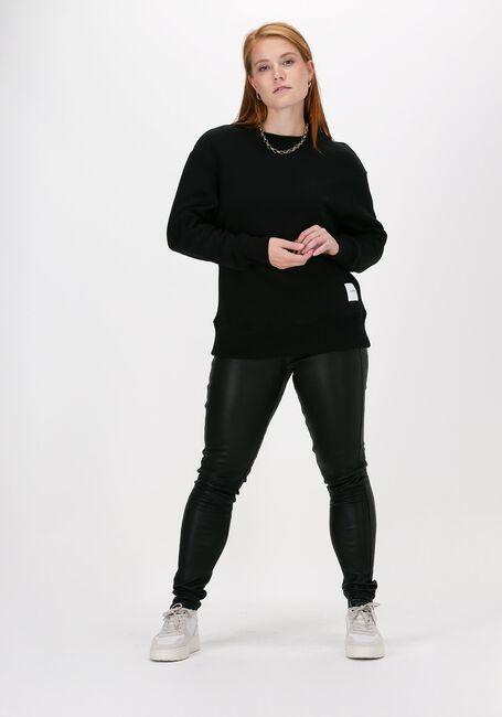 Zwarte LUNE ACTIVE Sweater KYLIE SWEAT  - large