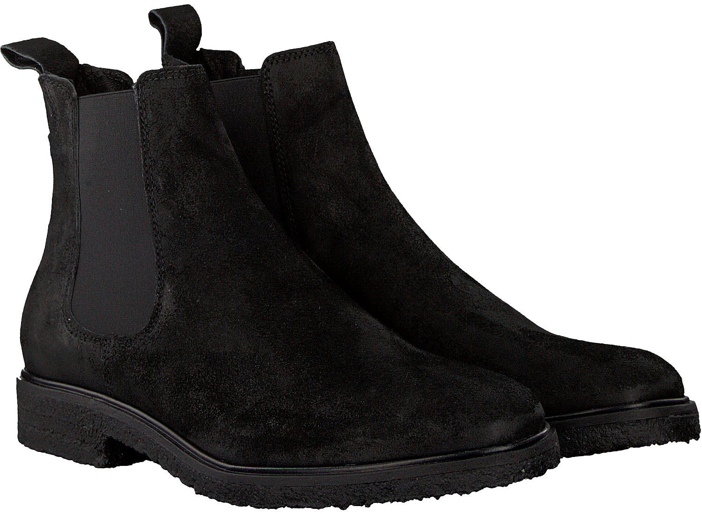 Zwarte GOOSECRAFT Chelsea boots CHET CREPE CHELSEA | Omoda