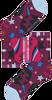 Paarse HAPPY SOCKS Sokken HYSTERIA VIOLA ANKLE SOCK  - small