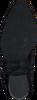 Zwarte NUBIKK Enkellaarsjes FREDDY CURA  - small
