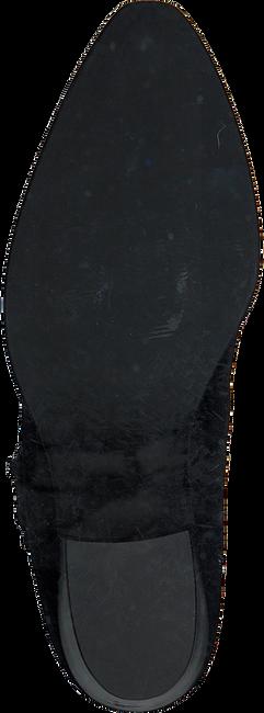 Zwarte NUBIKK Enkellaarsjes FREDDY CURA  - large