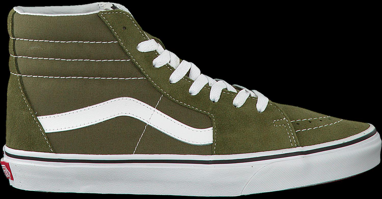 Groene VANS Sneakers SK8-HI HEREN   Omoda