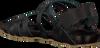 Zwarte RED-RAG Sandalen 79160 - small