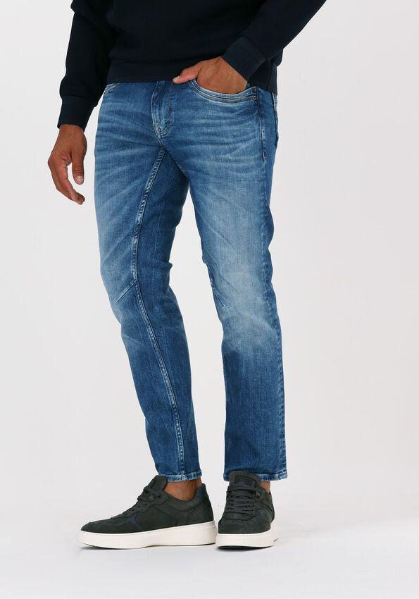 Donkerblauwe PME LEGEND Slim fit jeans SKYMASTER ROYAL BLUE VINTAGE - larger