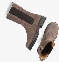 Taupe CLIC! Chelsea boots CL-20400  - medium