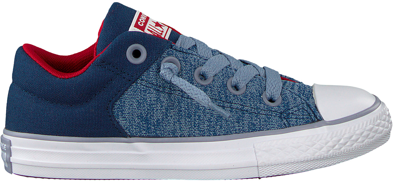 71b1e86cea8 Blauwe CONVERSE Sneakers CTAS HIGH STREET SLIP KIDS - Omoda.nl
