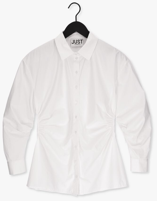 Witte JUST FEMALE Blouse CHARON SHIRT - larger