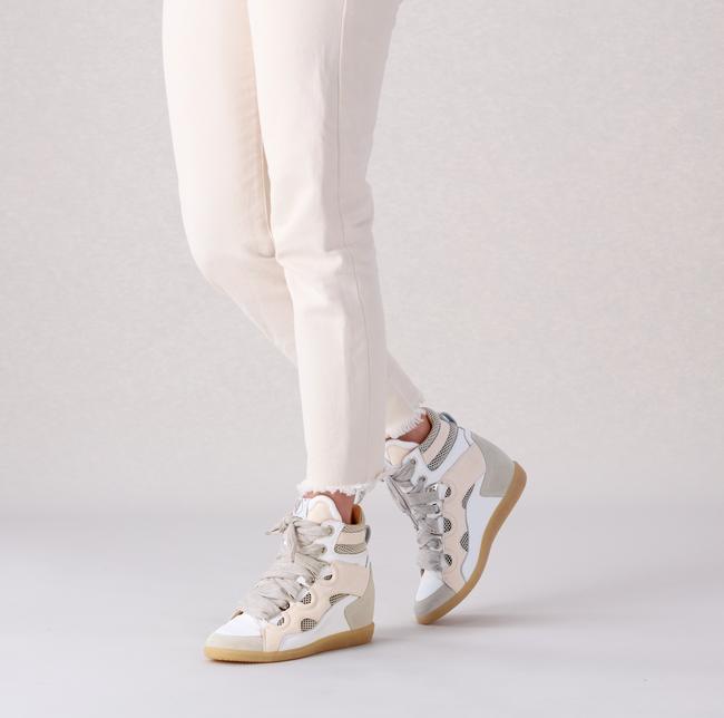 Beige LEMARÉ Hoge sneaker 2553  - large