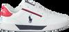 Witte POLO RALPH LAUREN Lage sneakers KEELIN  - small