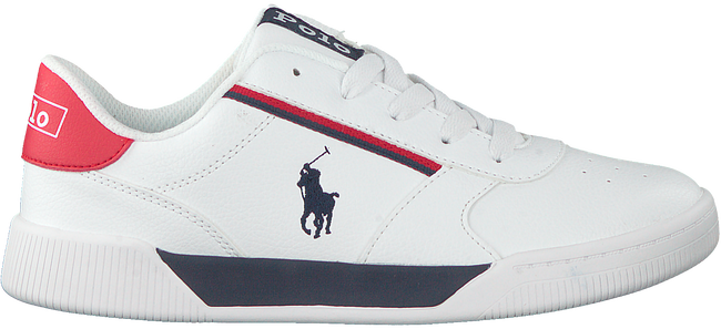 Witte POLO RALPH LAUREN Lage sneakers KEELIN  - large