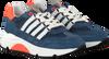 Blauwe TON & TON Lage sneakers TOBY  - small
