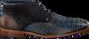 Blauwe REHAB Nette schoenen SALVADOR CROCO  - small