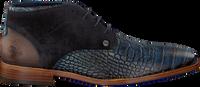 Blauwe REHAB Nette schoenen SALVADOR CROCO  - medium