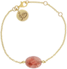 Roze JEWELLERY BY SOPHIE Armband GEMSTONE BRACELET - small