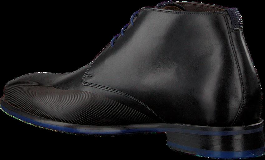 Zwarte FLORIS VAN BOMMEL Nette schoenen 20376  - larger