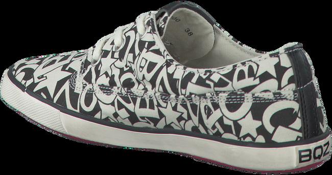 Witte BRAQEEZ Sneakers PRINT BLACK/WHITE  - large
