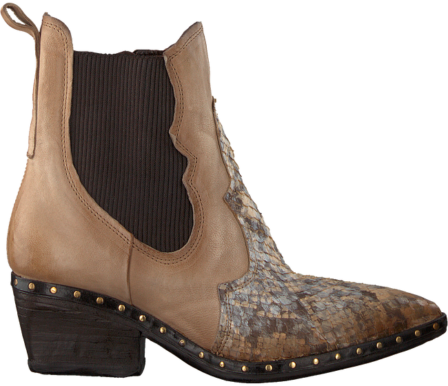 Beige A.S.98 Chelsea boots 268212 - large