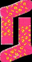 Roze HAPPY SOCKS Sokken PIZZA SOCK  - medium