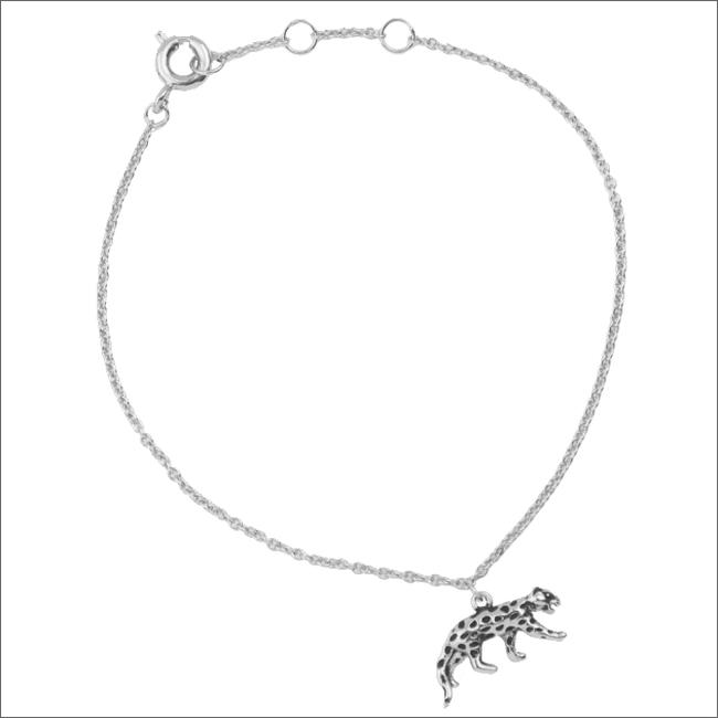 Zilveren ATLITW STUDIO Armband SOUVENIR BRACELET LEOPARD - large