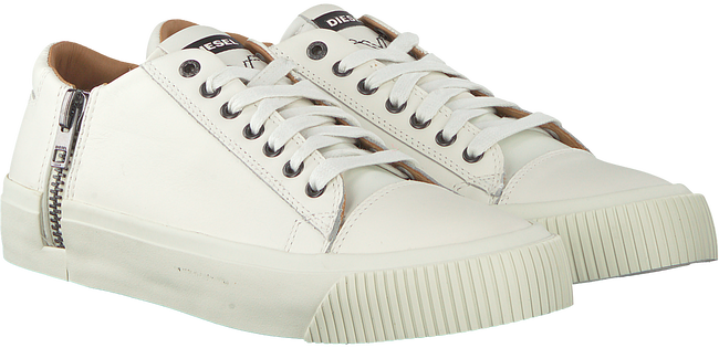 Witte DIESEL Sneakers ZIP-TURF  - large