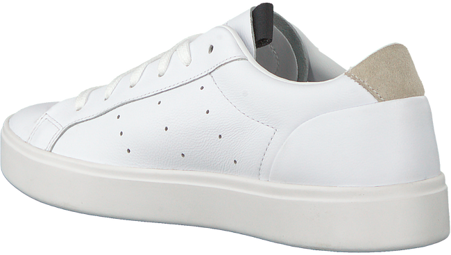 Witte ADIDAS Sneakers SLEEK W  - large