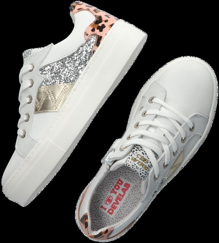 Roze DEVELAB Lage sneakers 41320  - larger