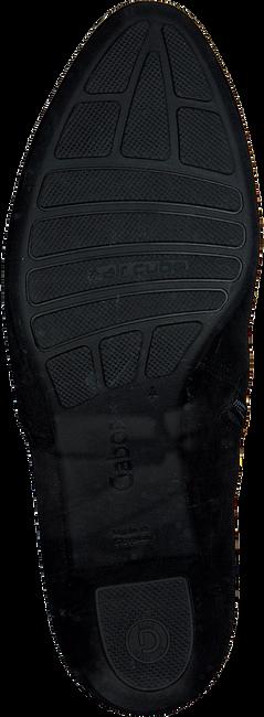 Zwarte GABOR Enkellaarsjes 584  - large