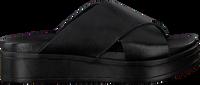 Zwarte SHABBIES Slippers 170020124  - medium