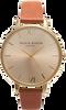 Bruine OLIVIA BURTON Horloge BIG DIAL - small
