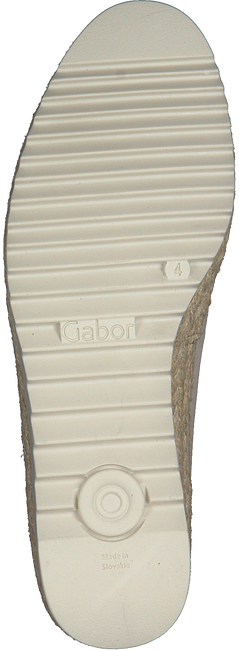Beige GABOR Instappers 610.2  - large