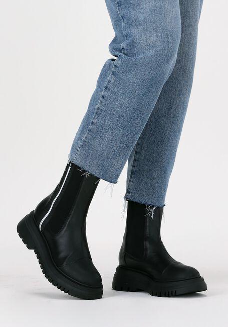Zwarte JANET & JANET Chelsea boots 02202  - large