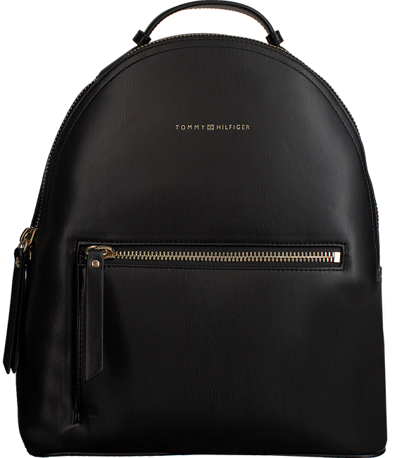 Zwarte TOMMY HILFIGER Rugtas ICONIC TOMMY BACKPACK - large