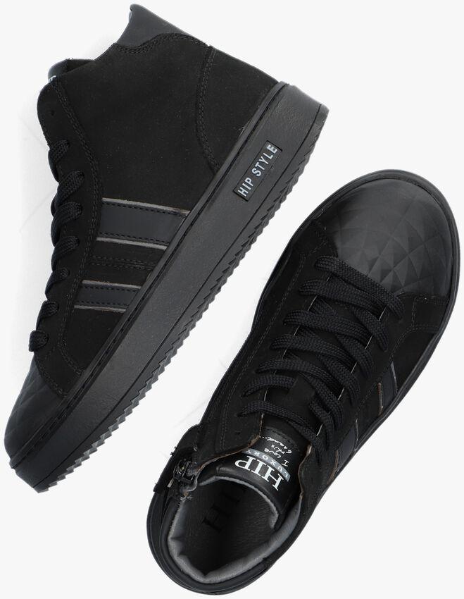Zwarte HIP Hoge sneaker H1943  - larger