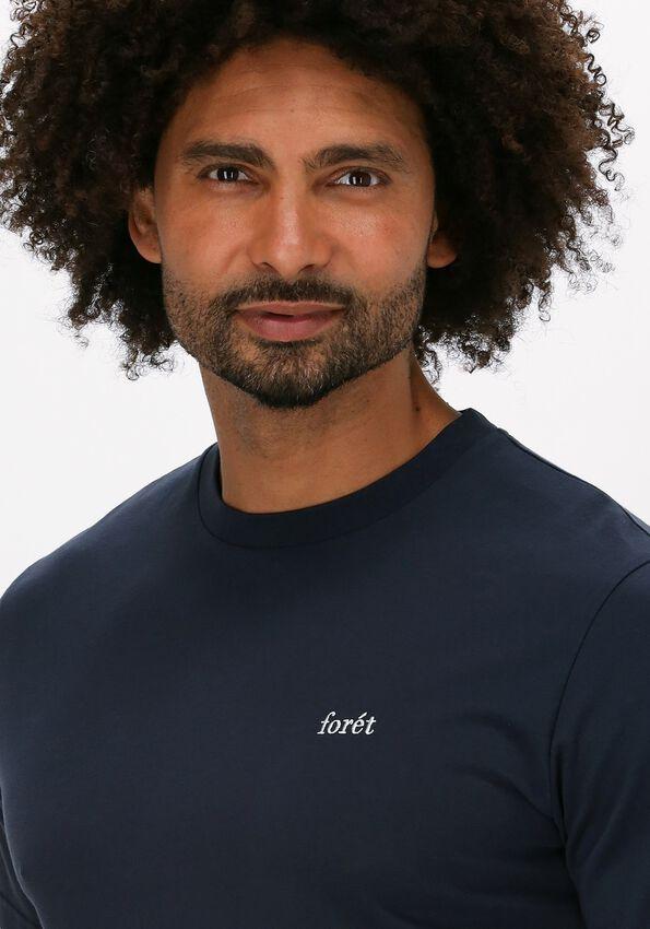 Donkerblauwe FORÉT T-shirt AIR T-SHIRT - larger