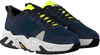 Blauwe P448 Lage sneakers DEAN MEN  - small