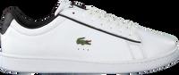 Witte LACOSTE Lage sneakers CARNABY EVO 120 - medium