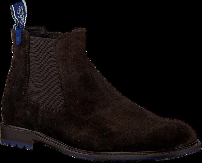 Bruine FLORIS VAN BOMMEL Chelsea boots 10902  - large
