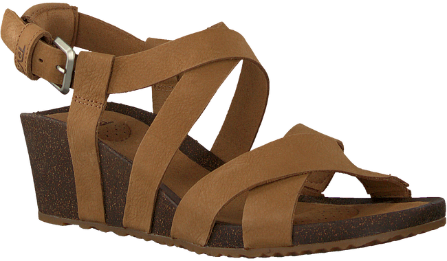 Camel TEVA Sandalen W MAHONIA WEDGE CROSS  - large