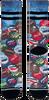 Zwarte XPOOOS Sokken SODA P - small