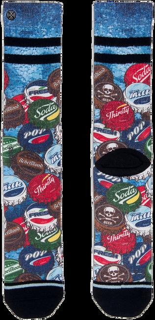 Zwarte XPOOOS Sokken SODA P - large