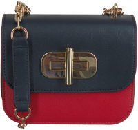 Blauwe TOMMY HILFIGER Schoudertas TURNLOCK MINI CROSSOVER  - medium