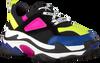 Zwarte NIKKIE Lage sneakers CHUNCKY SNEAKER  - small
