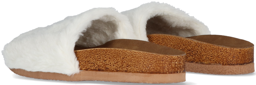 Witte OMODA Pantoffels LUCY - larger