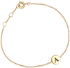 ATLITW STUDIO ARMBAND CHARACTER BRACELET LETTER GOLD - small