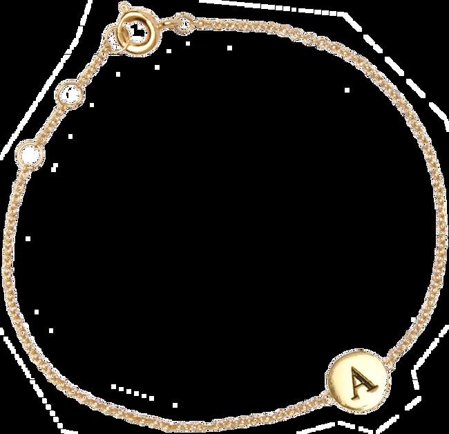 Gouden ATLITW STUDIO Armband CHARACTER BRACELET LETTER GOLD ZwSQnwB1
