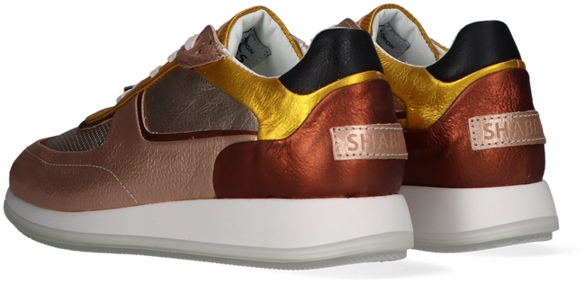 Cognac SHABBIES Lage sneakers 101020094  - large